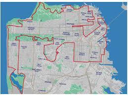 san francisco map sightseeing walking san francisco s 49 mile scenic drive guidebook
