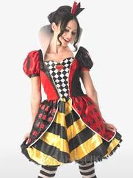 Queen Spades Halloween Costume Alice Wonderland Fancy Dress Party Delights