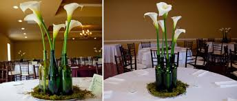 wine bottle wedding centerpieces wedding flowers in wine bottles wedding corners