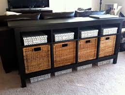 black sofa table with drawers enchanting diy sofa table with storage 12850 litro info shelves
