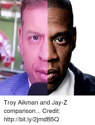 Jay Meme - troy aikman and jay z comparison credit httpbitly2jmdb5q jay z