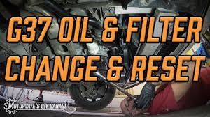 nissan 370z oil filter oil u0026 filter change g37 370z motorvate u0027s diy garage ep 8