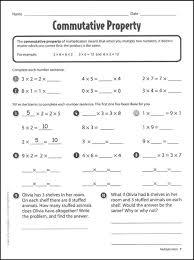 properties of addition worksheets 3rd grade worksheets