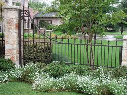 ornamental iron gates l c fence and gate