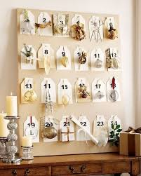 pottery barn inspired framed christmas ornament advent countdown