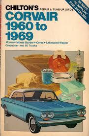 haynes repair manual chevrolet corsa chilton u0027s repair and tune up guide corvair 1960 to 1969 standard