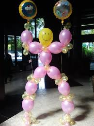 Balloons On Sticks Centerpiece by 7 Foot Balloonman Palm Beach Balloon U0026 Event Decorating Ideas