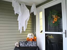 Halloween Cheap Decorating Ideas Cute Halloween Door Decorations