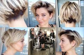 short hairstyle angled away from face hair stylist briana cisneros short angled bob with undercut to
