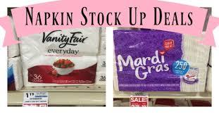 mardi gras napkins vanity fair and mardi gras napkins coupon deals as low as free at