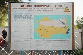 Chernobyl Fallout Map by Chernobyl Disaster Inside The Exclusion Zone And Abandoned Ghost