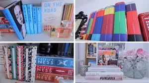 bookshelf tour youtube