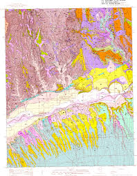 Map Of Arizona And Utah by Usgs Open File Report 96 0676 Geology Of Mesquite Quadrangle