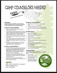 Camp Counselor Resume Sample by Counselor Resume Free Resume Templates