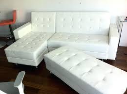 white leather sofa bed ikea lovely white leather sofa sleeper photos gradfly co