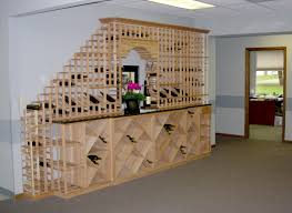 how to make a wine bottle l wonderful wooden half landing staircase with cubicles wine bottle