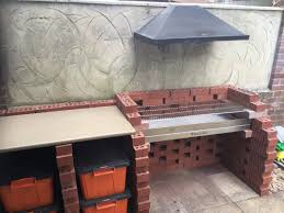 outdoor barbeque designs bathroom building a water wall brick bbq smoker grill plans