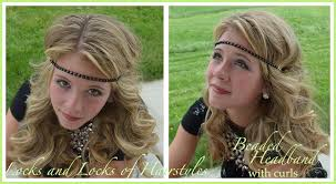 roaring 20s hair styles locks and locks of hairstyles quick and easy video tutorials