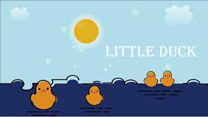 templates powerpoint lucu mbe style cute little yellow duck ppt templates jpg
