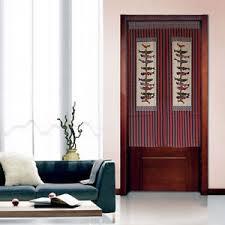 Door Way Curtains Japanese Noren Koinobori Printed Doorway Curtains Room Divider