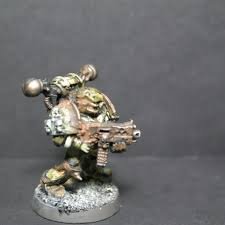 Stencil Giganti by North Of The Golden Throne Hobby Showcase Plague Marines