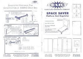 Buy Blueprints Murphy Bed Plan Smartwedding Co