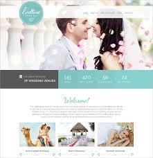 wedding websites 39 wedding website themes templates free premium templates
