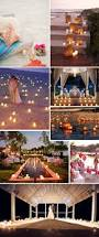 beach wedding at night lot u0027s of candles lot u0027s of lights