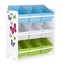 scaffali bambini bambini mensola scatole libreria giocattolo farfalle mensola con