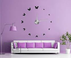 home decoration materials home decoration 3d eva wall sticker diy wall clock 12s001 max3