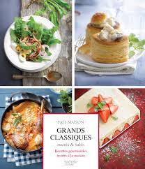 hachette cuisine fait maison grands classiques sucrés et salés amazon co uk harlé aline