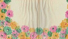 vintage floral wrapping paper vintage shabby floral paper background stock photo image 55289802