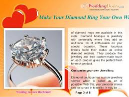 Make Your Own Jewelry Store - make your diamond ring your own with diamond boutique