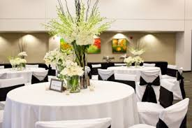 black and white wedding table decoration ideas 5966