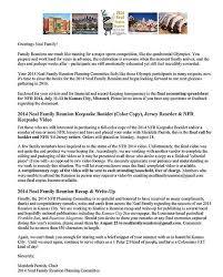 family reunion booklet sle reunion invites reunions magazine