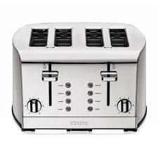 sur la table toaster krups breakfast set 4 slice toaster sur la table
