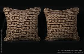 Decorative Accents For The Home by Decorative Designer Pillows Stroheim Leopard Print Velvet Custom