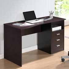 techni mobili double pedestal laminate computer desk chocolate computer desk technimobili double pedestal computer desk