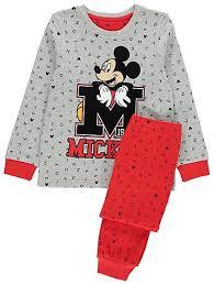 disney mickey mouse pyjamas george