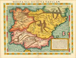 Spain And Portugal Map by