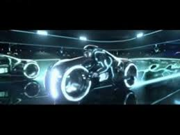 Tron Legacy Light Cycle Tron Legacy Lightbike Scene Youtube