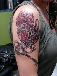 Locket Tattoo Ideas Stunning Lock And Key Tattoo Designs Get New Tattoos For 2015