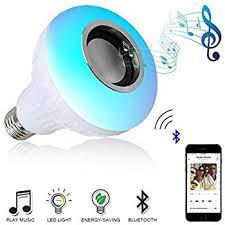 bluetooth music light bulb homedeco led rgb color bulb light e27 bluetooth control smart music