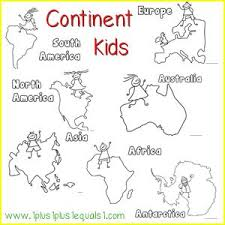 25 continents activities ideas geography