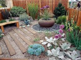 low maintenance plants like succulents ornamental grasses and