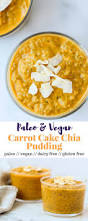 carrot cake chia pudding eat the gains