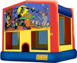 halloween bounce house inflatable jumper san diego jumpmasters