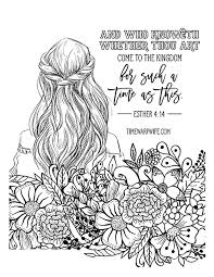 Esther Bible Study Week 2 Part 1 Printable Resources Free Printable Christian Coloring Pages