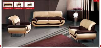 Leather Livingroom Set 27 Cream Leather Sofa Set By Esf