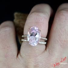 rose gold amethyst diamond ring custom celebrity light pink sapphire u0026 diamond engagement ring